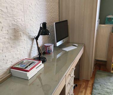 Γραφείο απο σουηδικό ξύλο βαμμένο