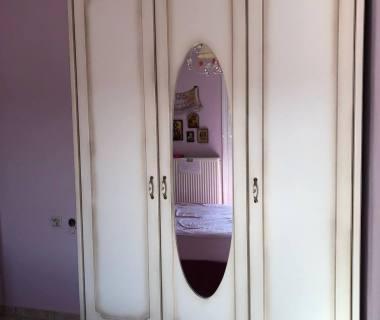 Παιδικό δωμάτιο για κορίτσι απο MDF βαμμένο πατίνα