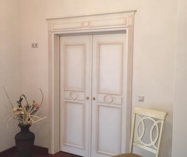Διπλή συρόμενη πόρτα βεστιαρίου