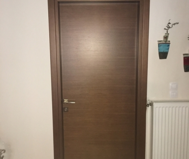 Πόρτα δωματίου τεχνητό δρύς οριζόντια νερά